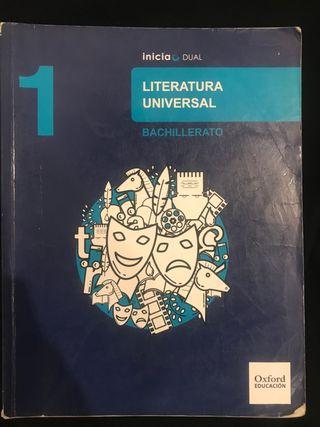Libro Literatura Universal 1º Bachiller
