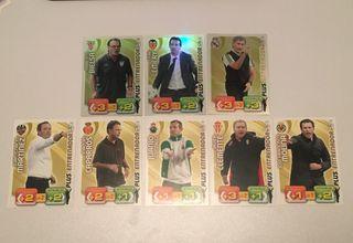 Adrenalyn 2011/2012 (entrenadores)