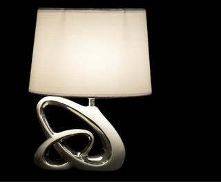 Lámpara diseño de gres