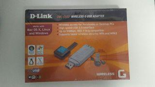 Adaptador USB Wifi D-Link DWL-G122