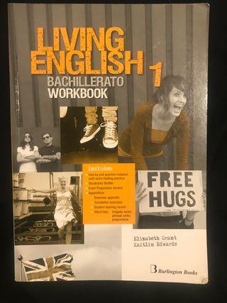 Libro 'Living English' 1º bach workbook