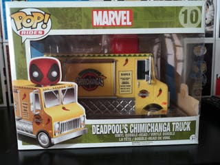 funko pop deadpool chimichanga