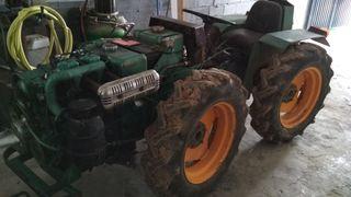 tractor articulado bjr