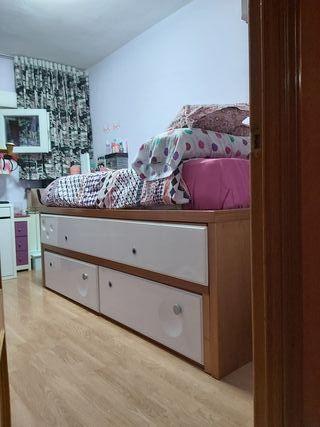 cama habitación mueble dormitorio nido no ikea