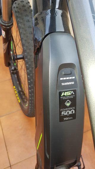 bicicleta electrica MTB megamo