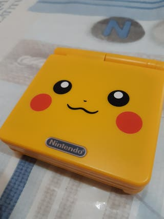 Game boy advance sp Edición Pikachu