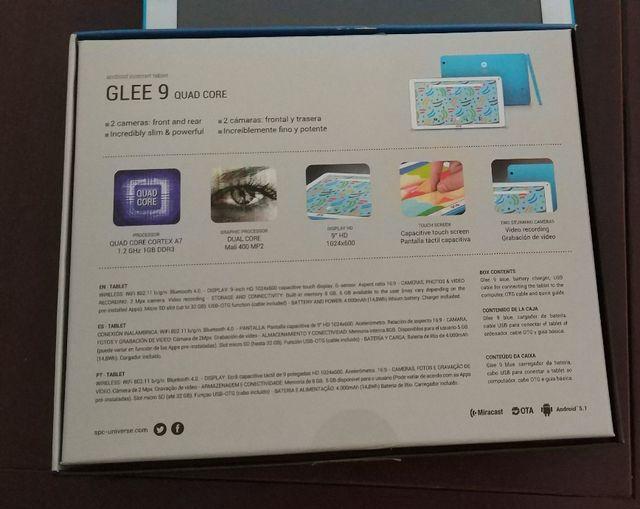Tablet SPC GLEE 9