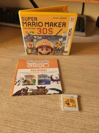 SuperMario Maker Juego Nintendo 3DS / 2DS