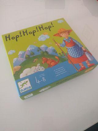 Hop! Hop! Hop! Juego colaborativo de la casa Djeco