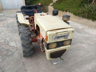 Tractor Pascuali con Rotovator Enguix