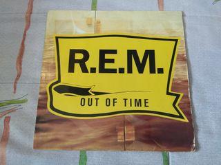 Vinilo rem - out of time