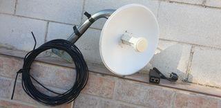 antena largo alcance wifi ubiquiti