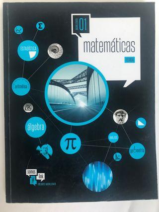 Libro matematicas teoria 1º Bachillerato edelvives
