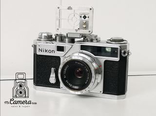 raro objetivo planar RF 35mm 3.5f contax/nikon S