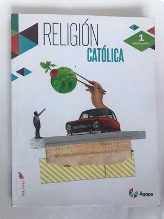 Libro religion catolica 1Bachillerato edelvives
