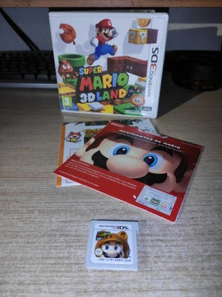 Super Mario 3D Land Juego Nintendo 3DS / 2DS