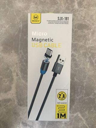 Cargador magnético micro USB