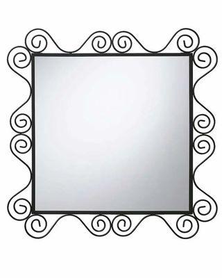 Espejo pared Ikea forjado negro