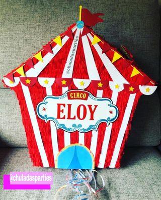 piñata carpa de circo