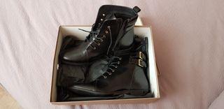 botas negras talla 40