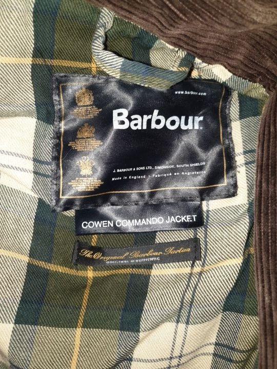 Barbour cazadora usado