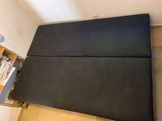 Sofá cama 3 plazas con baúl