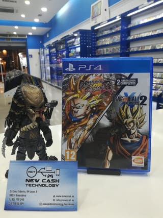 DRAGON BALL FITGHTERZ + XENOVERSE 2 PS4 IMPECABLE