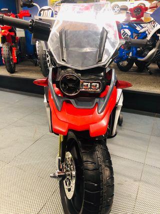 Moto eléctrica bmw gs 1200 6v