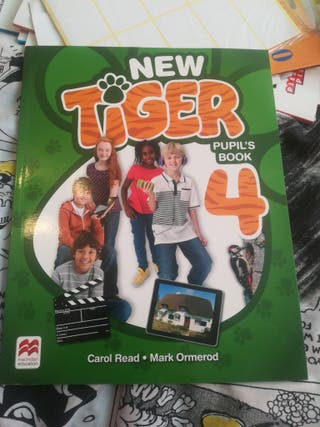 New tiger 4. pupil's book. macMillan