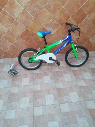 bicicleta jl went de 16''