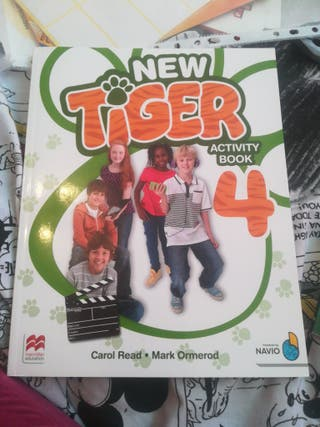 New Tiger 4 activity book. Macmillan