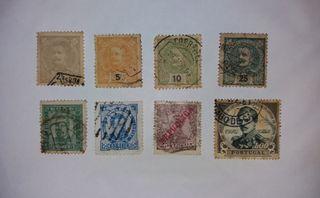 Sellos Portugal 1880-1910