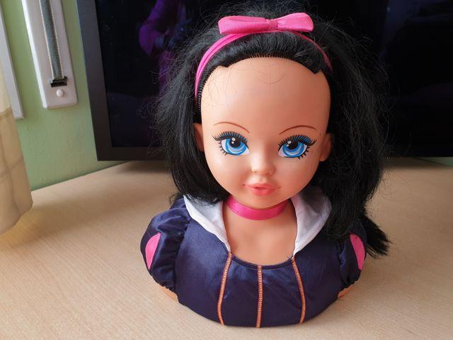 Cabeza de muñeca para maquillar
