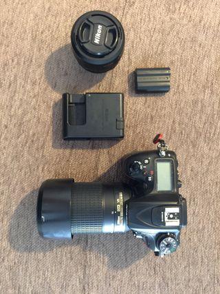 Nikon D7200+ Nikon35mm f 1:8 y AF-P DX VR 70-300
