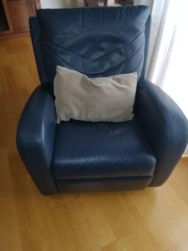 sillón natuzzi de piel (precio negociable)