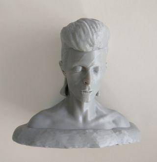 Busto de David Bowie