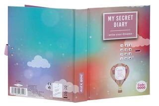 Diario con clave electronica Dreams