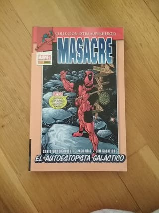 Comic Deadpool/Masacre: El autoestopista galáctico