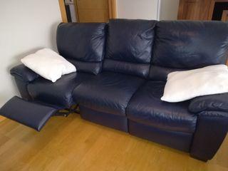 sofá natuzzi de piel (precio negociable)