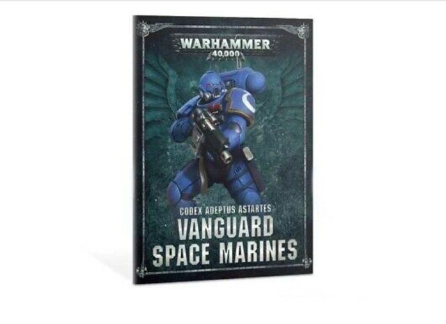 Warhammer 40 Codex Vanguard Space Marine de segunda mano por 3 ...