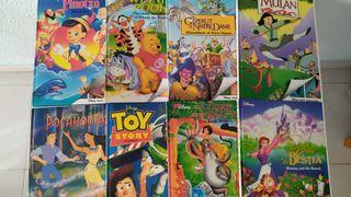 Libros Disney. Colección 18 libros catalán-inglés