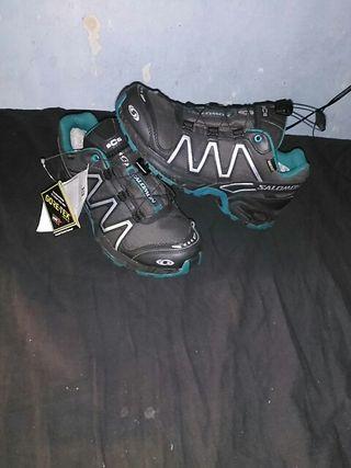 zapatillas SALOMÓN trail NUEVAS gore tex