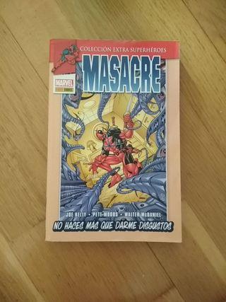 Cómic Deadpool / Masacre: No haces mas que darme