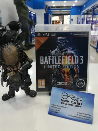 BATTLEFIELD 3 LIMITED EDITION PS3 IMPECABLE