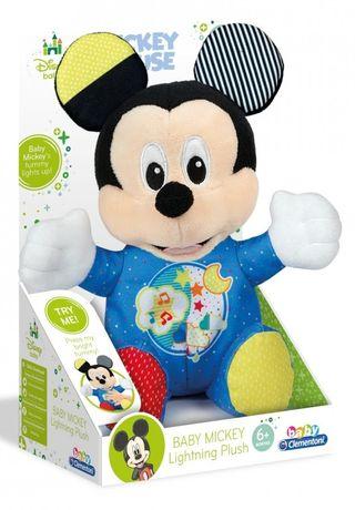 Peluche Baby Mickey con Luz y Sonido