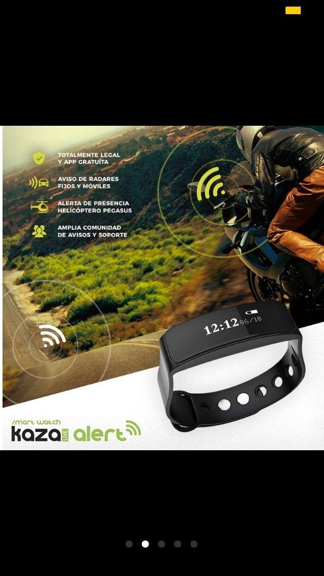 Avisador de radares y aplicación Fitness