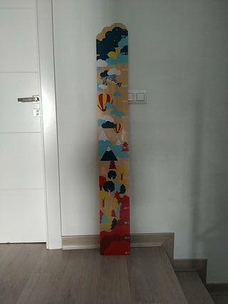 Medidor de pared para niños
