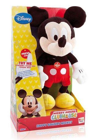Peluche Mickey con sonido 35cm