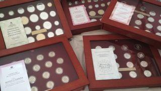 Lote colección de monedas