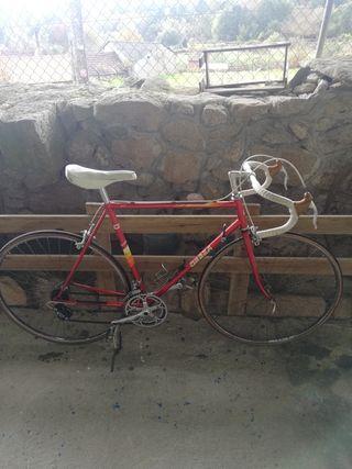 bicicleta orbea garbi de carretera clasica